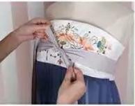一片式齐胸襦裙和两片式齐胸襦裙穿法介绍
