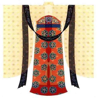 女性襦裙大袖衫考古(唐代 )