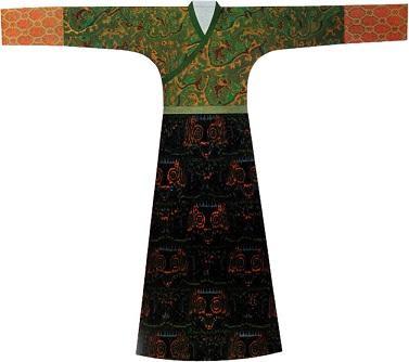 襦裙考古(汉,资料来源没有写性别)