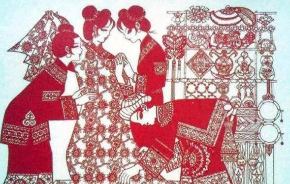 汉服婚礼布置