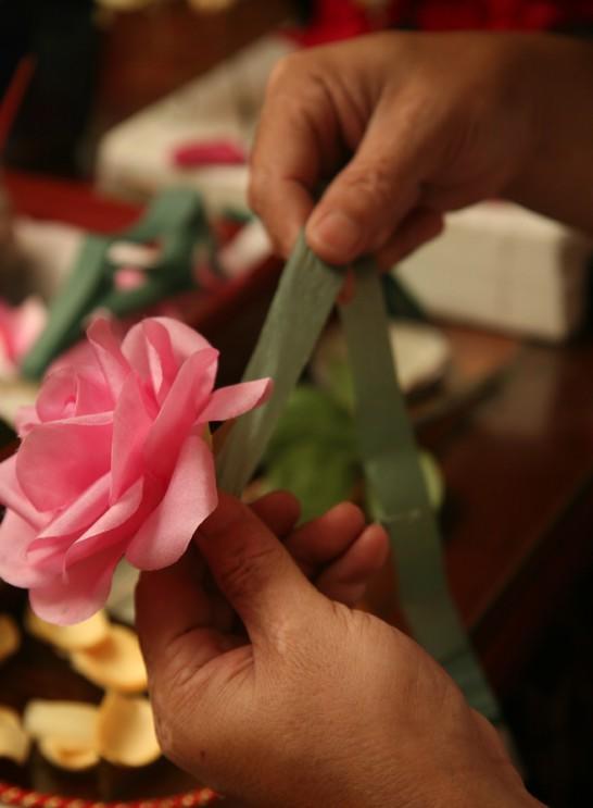 北京绢花制作