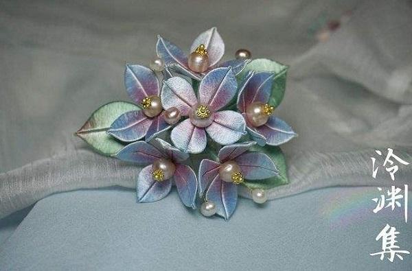 汉服发饰分类中的仿真花,你爱哪一款?