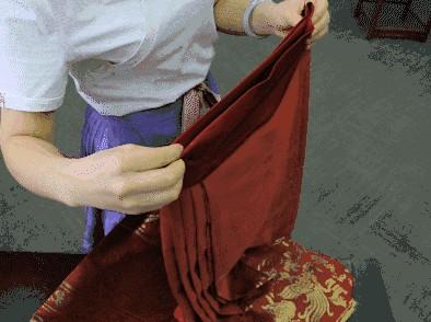 汉服如何收纳?马面裙/齐胸襦裙收纳折叠方法