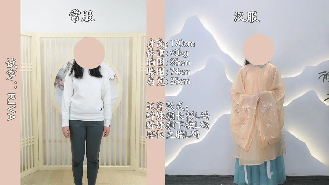 怎么选汉服?不同身材明制长衫汉服对比