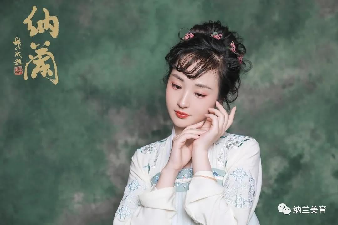 【汉服妆容】少女汉服妆容,汉服妆容少女图片