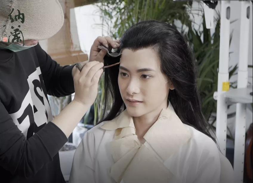 男生妆容怎么画,汉服妆造创作及欣赏(女扮男装)