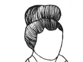 汉服妆造创作及欣赏:北宋发型 云尖巧额