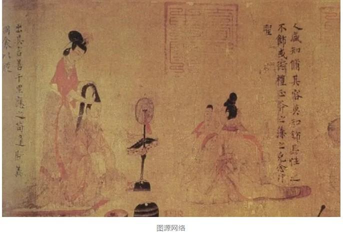 汉服妆造创作及欣赏:三国时期妆容 翠眉惊鹤髻
