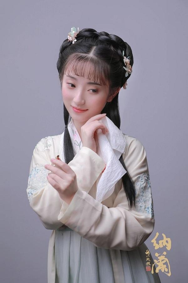汉服妆造欣赏:小家碧玉造型角色设计