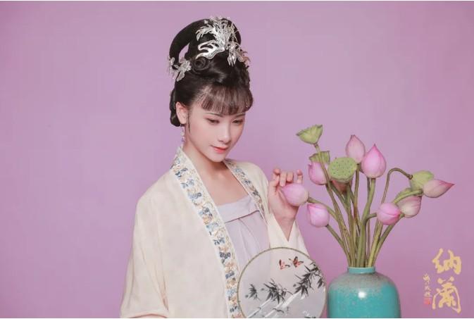 汉服妆造欣赏:后宫佳丽角色汉服妆容