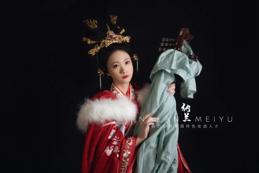 汉服妆造课程欣赏:古妆人物造型·王昭君