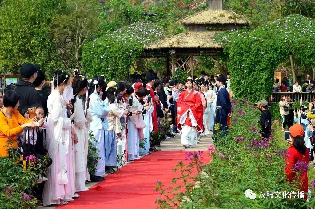 2021汉服花朝节,各地景点汉服活动(二)