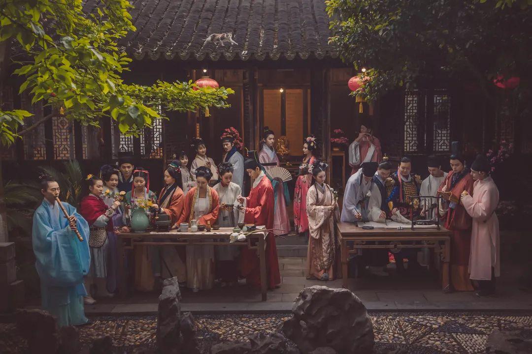 2021西塘赏花季   梦西塘·汉服十二花神活动日程及抢票攻略