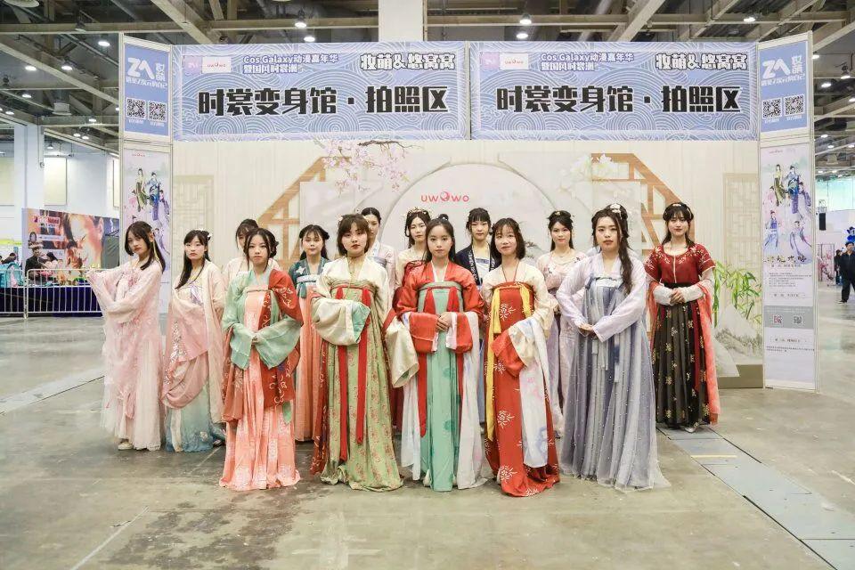 上海汉服活动 | 8月上海国风文化节,现场汉服妆造体验