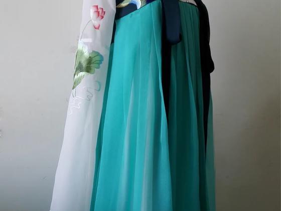 汉服制作教程 | 齐胸襦裙汉服三件套裁剪打板缝纫课程