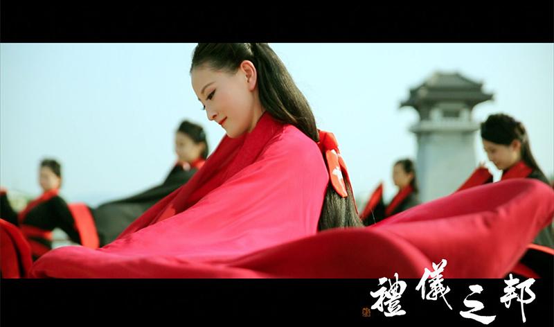 《礼仪之邦》舞蹈教学,璇玑姑娘教学(正背面分解版)